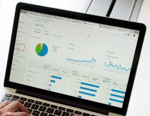 Målspårning i Google Analytics för e-handel